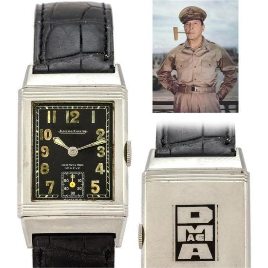 麦克阿瑟所戴手表拍卖得7.5万美元