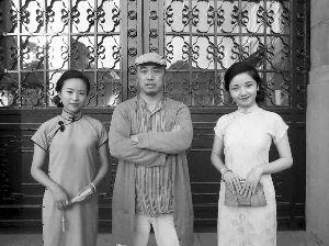 南京收藏家拿出50件老旗袍拍摄民国穿越照
